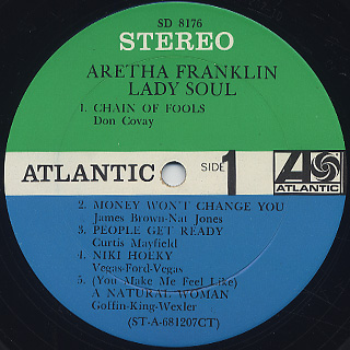 Aretha Franklin / Lady Soul label