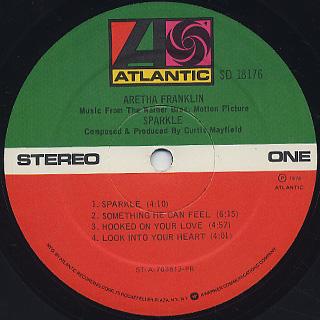 Aretha Franklin / Sparkle label