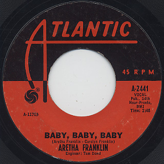 Aretha Franklin / (You Make Me Feel Like) A Natural Woman back