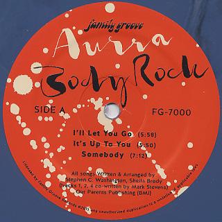 Aurra / Body Rock label