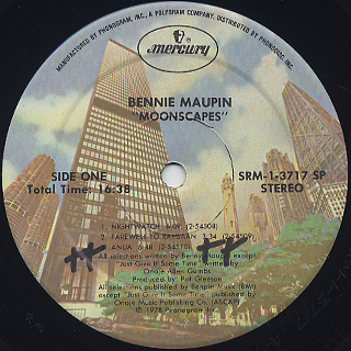 Bennie Maupin / Moonscapes label