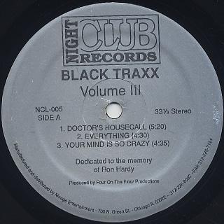 Black Traxx / Volume III