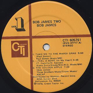 Bob James / Two label