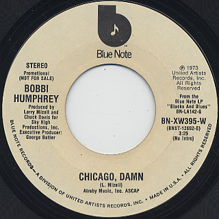 Bobbi Humphrey / Chicago, Damn