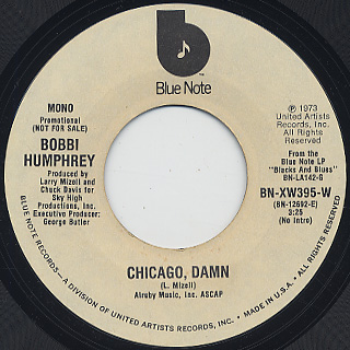 Bobbi Humphrey / Chicago, Damn back