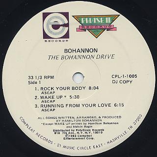 Bohannon / The Bohannon Drive label