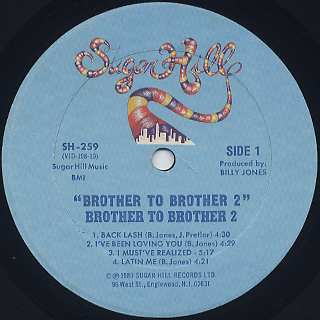 Brother To Brother 2 / S.T. label