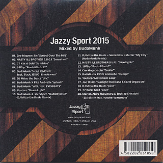 BudaMunk / Jazzy Sport 2015 mixed by BudaMunk back