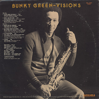 Bunky Green / Visions back