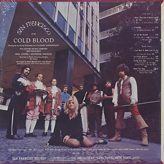 Cold Blood / S.T. back