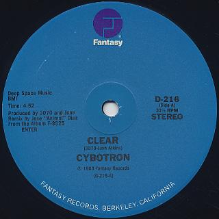 Cybotron / Clear