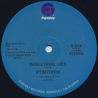 Cybotron / Clear back