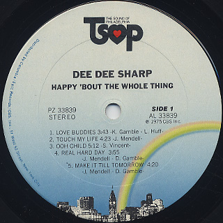 Dee Dee Sharp / Happy Bout The Whole Thing label