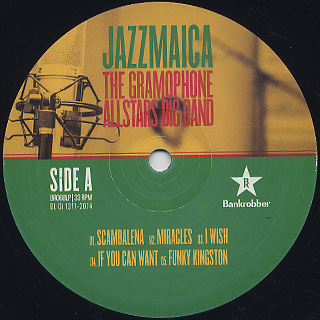 Gramophone Allstars Big Band / Jazzmaica label