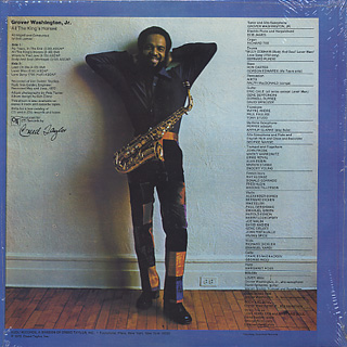 Grover Washington, Jr. / A Secret Place back