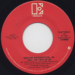 Grover Washington, Jr. / Just The Two Of Us