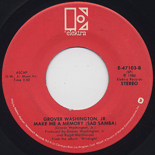 Grover Washington, Jr. / Just The Two Of Us back