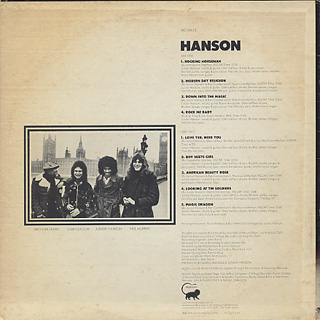 Hanson / Magic Dragon back