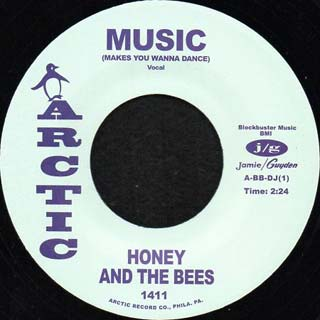 Honey And The Bees / Music (Make You Wanna Dance) label