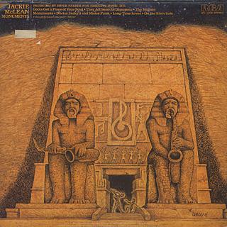 Jackie McLean / Monuments back