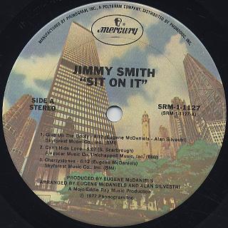 Jimmy Smith / Sit On It! label