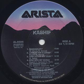 Kashif / Kashif label
