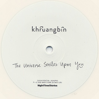 Khruangbin / The Universe Smiles Upon You label