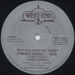 Loose Joints / Is It All Over My Face
