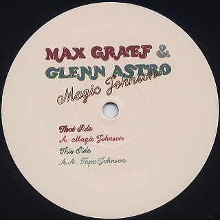 Max Graef & Glenn Astro / Magic Johnson label