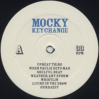 Mocky / Key Change label