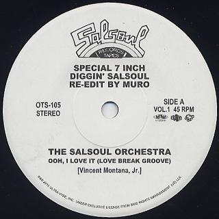 Muro / Diggin' Salsoul Re-Edit By Muro Vol.1