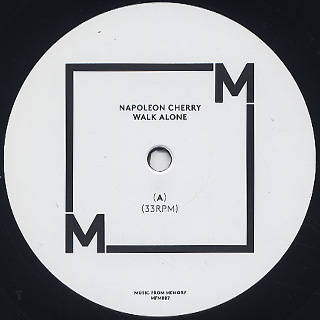 Napoleon Cherry / Walk Alone label