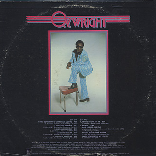 O.V. Wright / Into Something (Can't Shake Loose) back