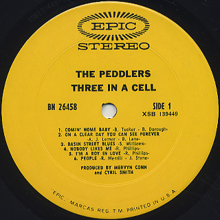 Peddlers / Three In A Cell label