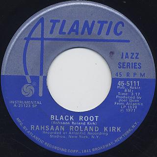 Rahsaan Roland Kirk / Ain't No Sunshine back