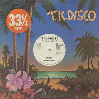 Ralph MacDonald / I Need Someone c/w Discolypso label