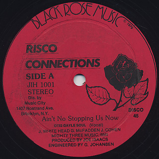 Risco connection ain t no stopping us now 12inch black rose