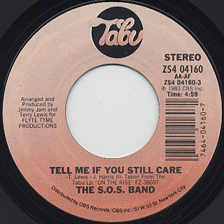 S.O.S. Band / Tell Me If You Still Care