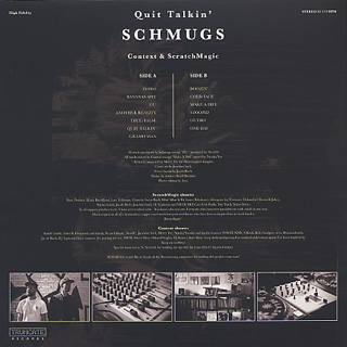 Schmugs / Quit Talkin' back