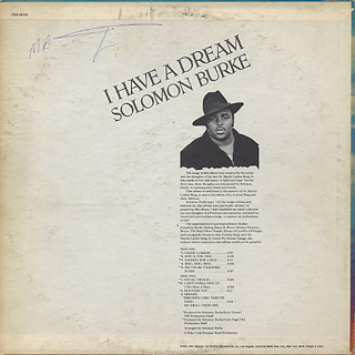 Solomon Burke / I Have A Dream back