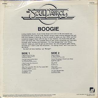 Soul Patrol / Boogie back