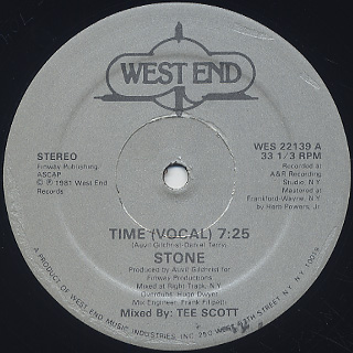 Stone / Time back