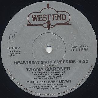Taana Gardner / Heartbeat (12