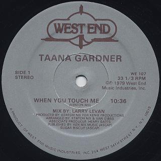 Taana Gardner / S.T. label