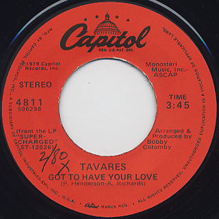 Tavares / Bad Times c/w Got To Have Your Love back