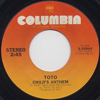 Toto / Georgy Porgy back
