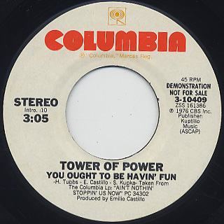 Tower Of Power / You Ought To Be Havin' Fun