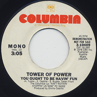 Tower Of Power / You Ought To Be Havin' Fun back