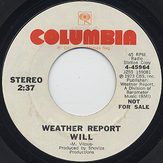 Weather Report / 125th Street Congress back