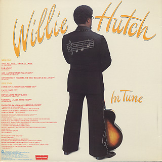 Willie Hutch / In Tune back